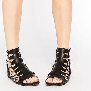 8bd412b7eab887 Women s Black Asos Gladiator Sandals on Poshmark